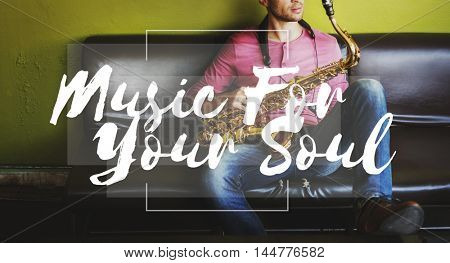 Musician Music Soul Sound Audio Emotion Rhythm Concept