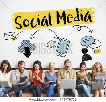 Social Media Networking Communication Connection Concept