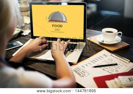 Food Eating Dining Diet Restaurant Nutrition Concept