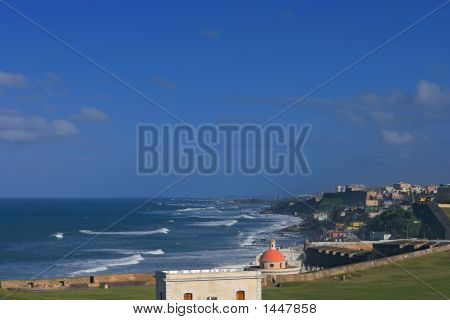 Ocean View From Old San Juan