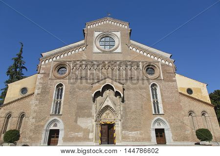 The Cathedral of Udine is an imposing edifice whose construction started in 1236 and was consecrated in 1335 as Santa Maria Maggiore.