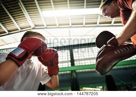 Coach Trainer Training Partner Focus Concentrate Concept