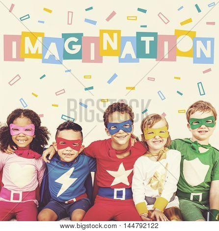 Enjoy Happy Imagination Kids Concept