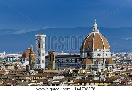 Florence cathedral or Cathedral of Saint Mary of the Flowers, Florence, Tuscany, Italy