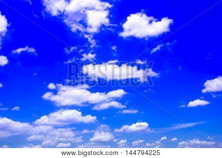 sky background blue with white clouds apply design and background.
