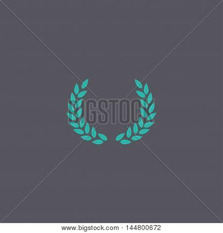 Wheat Icon. Vector Concept Illustration For Design