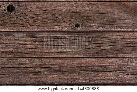 Old wooden surface with blank space for your text message