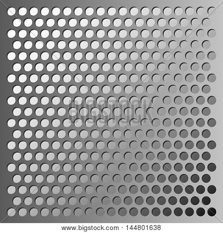 Vector metal grid background, industrial texture eps10