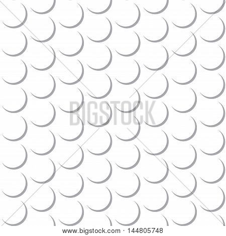 Abstract Round Circle Seamless Pattern Background