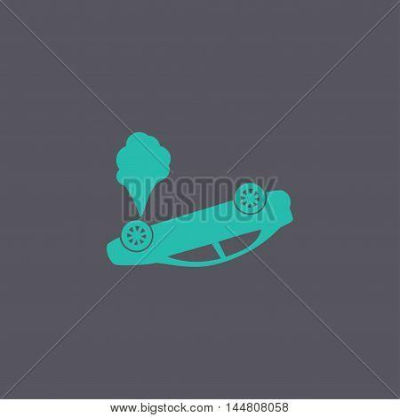 Car Crash Concept.