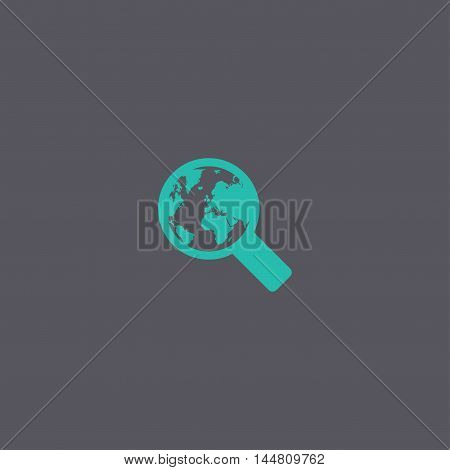 Search Web Icon. Vector Design