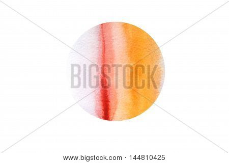 Watercolor Hand Drawn Dot Abstract Background.