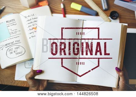 Original Brand Patent Product Trademark Graphic Concept