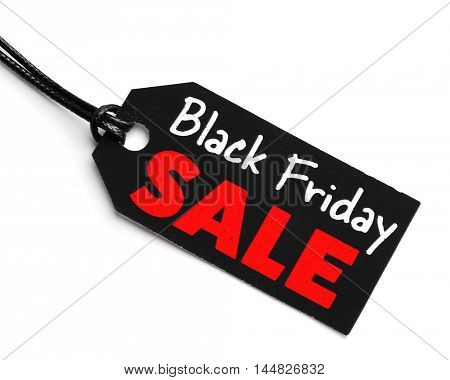 Sale label on white background