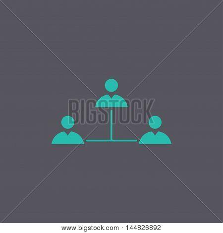 Vector Concept Network Icon