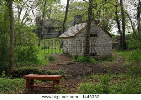 Spring House At The Hermitage