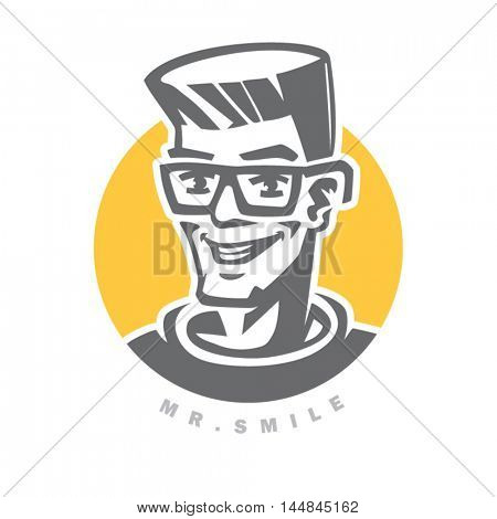 Icon of mister smile