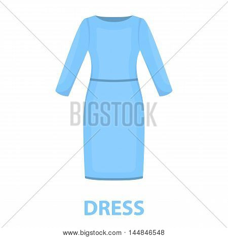 Long Dress icon of vector illustration for web and mobile design