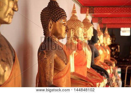 Wat Pho (Temple of the Reclining Buddha) in Bangkok Thailand