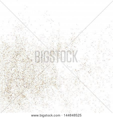 Coffee Color Grain Texture Vector.