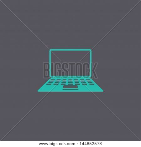 Laptop Icon Illustration