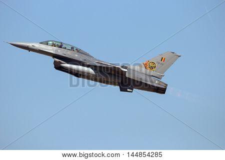 Belgian F-16 Fighter Jet