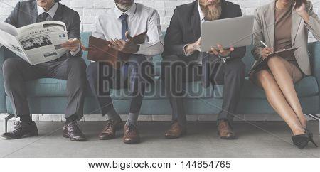 Business Achievement Connection Occupation Concept