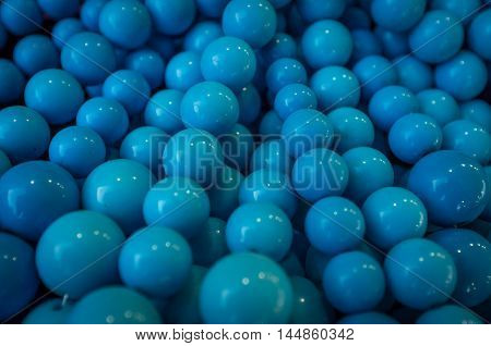 Background of fake blue pearl necklaces for fashion imagery