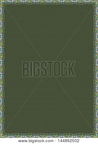 The khaki background. The green background. Vector graphics. Green background for text. Green. New green background.