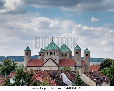 St. Michaelis church in Hildesheim in Germany