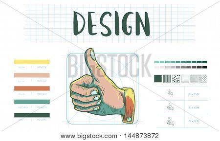 Branding Design Practice Success Creative Concept