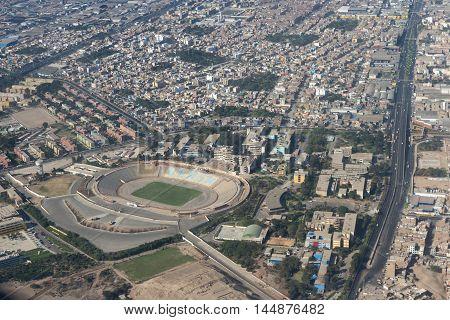 Soccer Stadium In Lima
