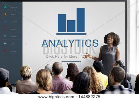 Analytics Finance App Homepage Concept