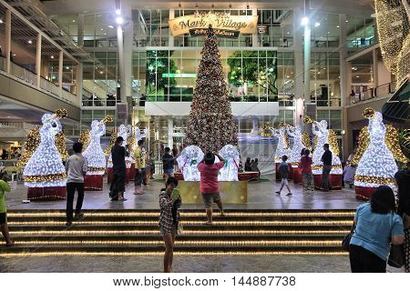 Christmas Decorations In Thailand