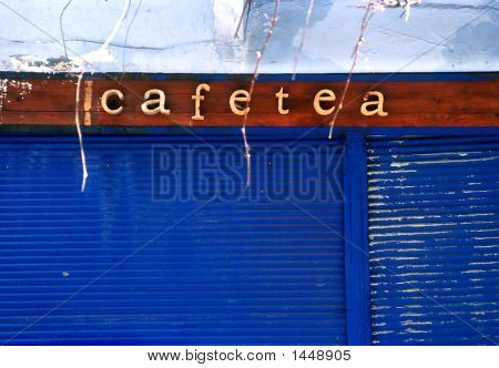 Closed Cafe