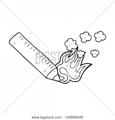 freehand drawn black and white cartoon pencil furiously scribbling