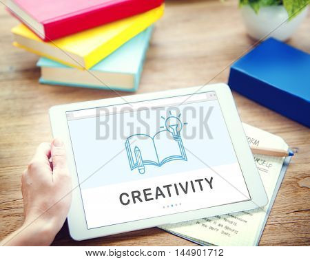 Creativity Ideas Education Knowledge Connection Technology Concept