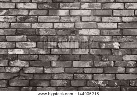background of grey seamless  brick wall texture