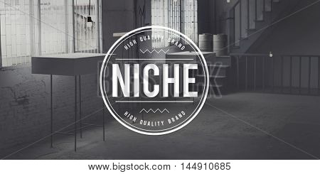 Niche Consumer Specialty Target Branding Area Concept