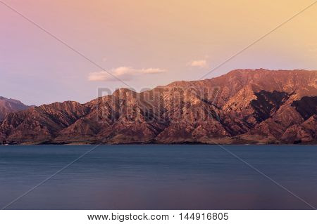 Lake Hawea Located In The Otago Region Of New Zealand Is A Popular Resort, And Is Well Used In The S