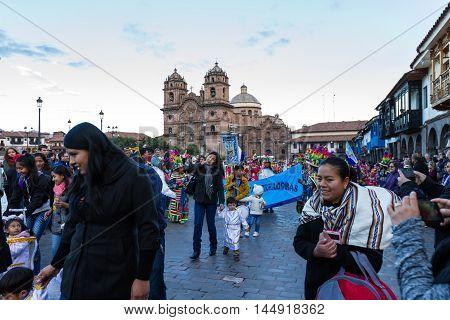 Festivity In Cusco, Nuestra Señora De Fatima