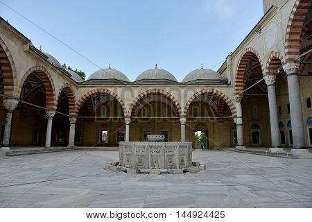 The Old Mosque is an early 15th-century Ottoman mosque in Edirne, Turkey.