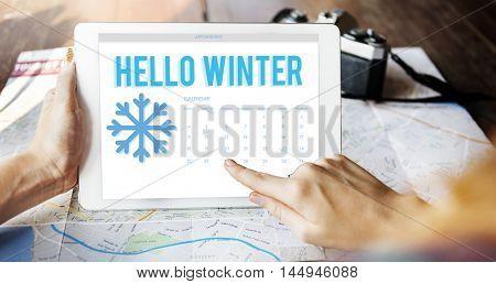 Winter Break Holidays Vacation Concept
