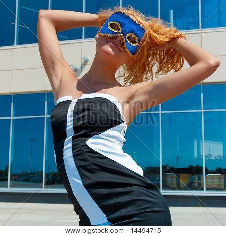 Model Business Woman