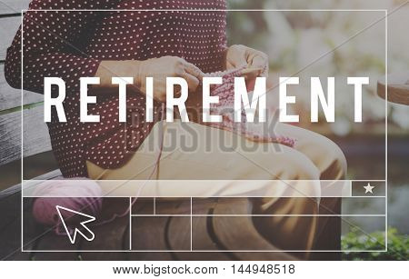 Retirement Insurance Lifestyle Pension Concept