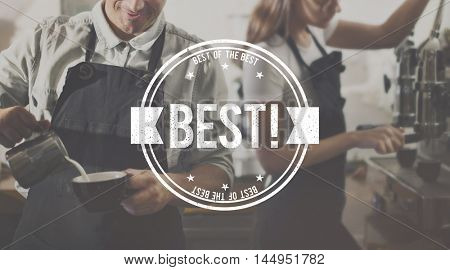 Best Choice Seller Award Finest Certificate Graphic Concept