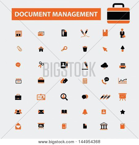 document management icons