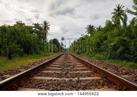 Sri Lanka Railroad the most common traffic