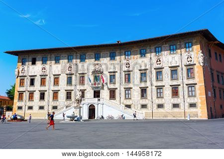 Knights Square In Pisa, Italy