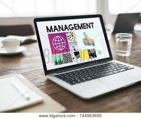 Management Planning Business Project Concept